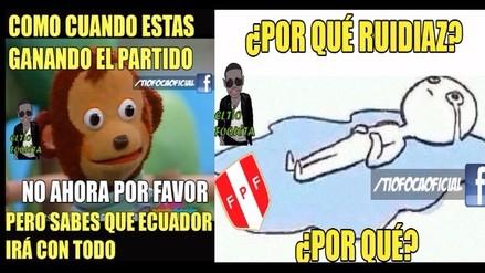 Perú vs. Ecuador: divertidos memes por el duelo de Copa América