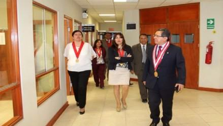 Fiscal de la Nación Pablo Sánchez visitó fiscalías de Lambayeque