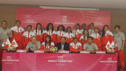 Selección Peruana de vóley lista para participar de Torneo World Grand Prix