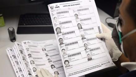 Actas electorales llegan a la ODPE de Huamanga