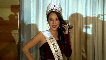 Patty Wong es elegida como Señora Perú Universo 2016