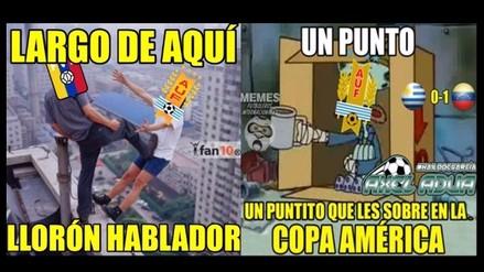 Copa América: Uruguay protagoniza memes tras derrota ante Venezuela