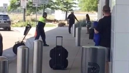Reportan tiroteo en aeropuerto de Dallas