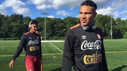 Selección Peruana entrenó en Boston de cara al encuentro frente a Brasil