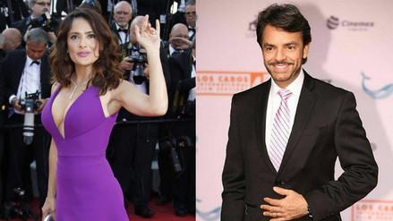 Salma Hayek se une al rodaje de la nueva película de Eugenio Derbez