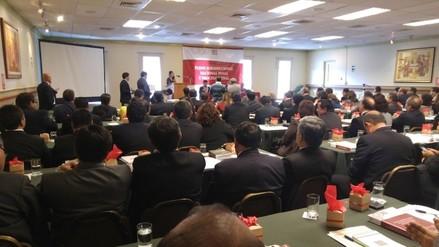 Unos 130 magistrados superiores desarrollan plenario en Cajamarca