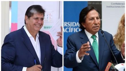 Alejandro Toledo y Alan García felicitaron a Pedro Pablo Kuczynski