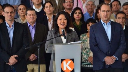 Keiko Fujimori reconoció victoria de PPK en la segunda vuelta