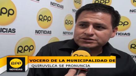 Asesor de municipio de Quiruvilca se pronuncia por conflicto de Otuzco