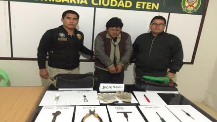 Chiclayo: capturan a sujeto implicado en robo al Santuario Niño del Milagro