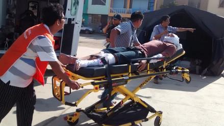 Ultiman detalles para Simulacro Poblacional en Lambayeque