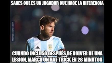 Memes de Messi y Di María tras goleada de Argentina en la Copa América