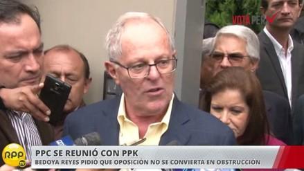 PPK dice que ya se disculpó con el fujimorismo y espera voltear la página