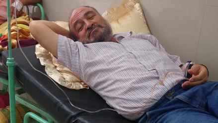 Exalcalde Roberto Torres permanece hospitalizado por glucosa