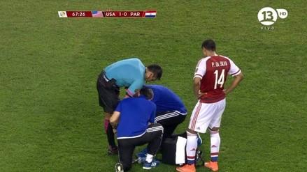 Estados Unidos vs. Paraguay: encuentro se detuvo tras lesión de árbitro