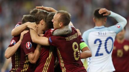 Eurocopa 2016: Rusia empató 1-1 sobre el final con Inglaterra
