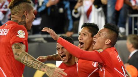 Las mejores imágenes del histórico triunfo de Perú sobre Brasil