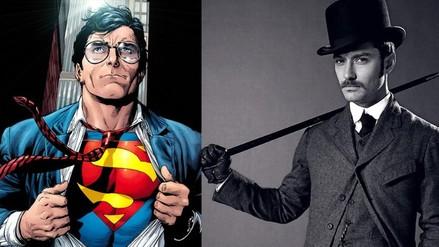Superman: Jude Law pudo haber sido el Hombre de Acero