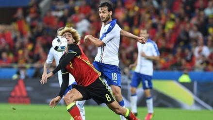 Eurocopa 2016: Italia venció 2-0 a Bélgica y es líder del grupo E