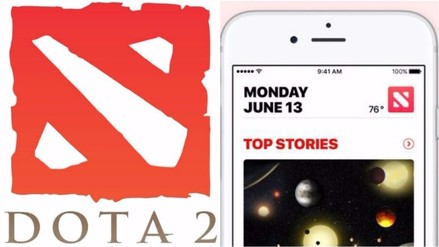 ¿Apple copió el logo de Dota 2 en la app de noticias de iOS 10?