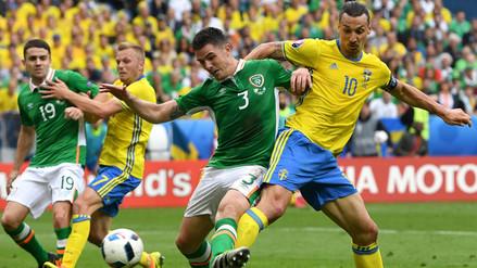 Eurocopa 2016: Irlanda y Suecia empataron 1-1 en el estreno del grupo E