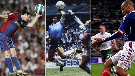 Perú vs. Brasil: 5 goles con la mano que están en la historia del fútbol