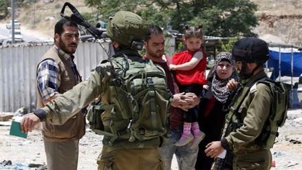 4,8 millones de palestinos son vulnerables por ocupación israelí