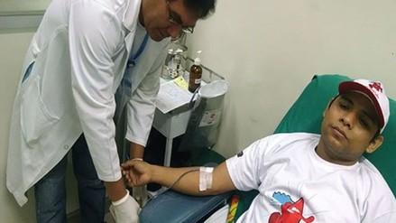 Realizan campaña de donación de sangre en hospital regional del Cusco