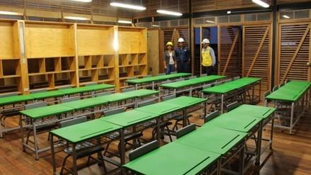 Entregarán primer local educativo diseñado para enfrentar inundaciones