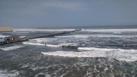 Puertos de Lambayeque fueron cerrados por oleajes anómalos