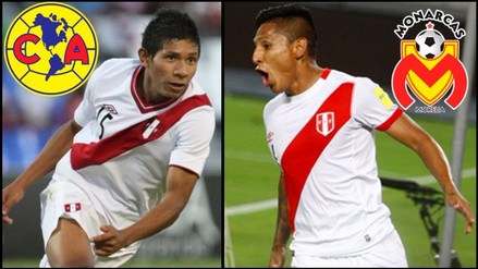 Raúl Ruídiaz y Edison Flores en la órbita del fútbol mexicano
