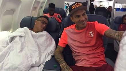 Perú llegó a New Jersey para enfrentar a Colombia en cuartos de final