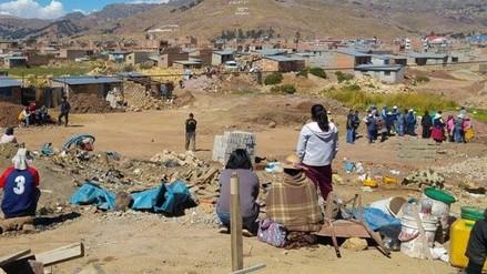 Puneños se enfrentan por intento de invasión de terrenos
