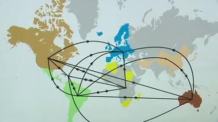 Video: esta fue la ruta que siguió el VIH para propagarse por el mundo