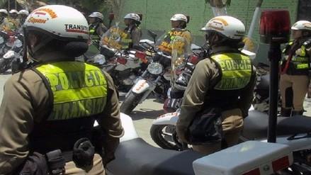 Policía Nacional anuncia cambios en la unidad de tránsito