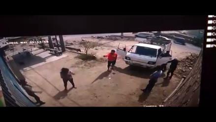 Video: Delincuentes asaltan a empresario y se llevan más de 15 mil soles