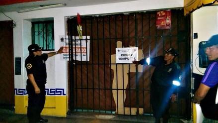 Trujillo: clausuran negocios por informales