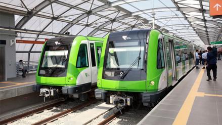 MTC: En próximos días se firmará adenda para comprar 20 trenes para Línea 1 del Metro