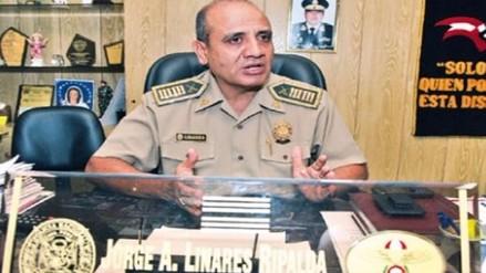 Archivan investigación contra coronel Jorge Linares Ripalda