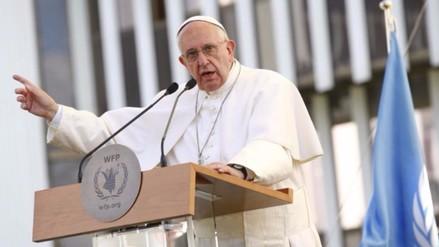 Papa da gracias a circos por