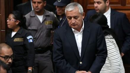 Guatemala: expresidente Pérez Molina es imputado por saqueo al Estado