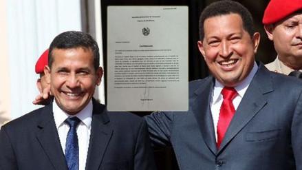 """Nadine Heredia: """"Presunta carta de Hugo Chávez es falsa"""""""