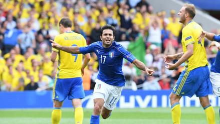 Eurocopa 2016: Italia ganó a Suecia y se clasificó a octavos de final