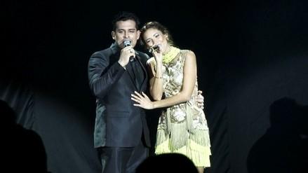 Christian Domínguez y María Grazia Gamarra volvieron a cantar juntos [VIDEO]