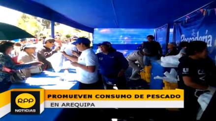 Arequipa: promueven consumo de pescado con preparación de platos típicos