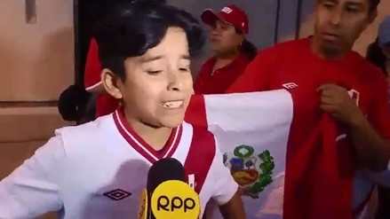 Selección Peruana: niño lloró tras recordar eliminación en Copa América