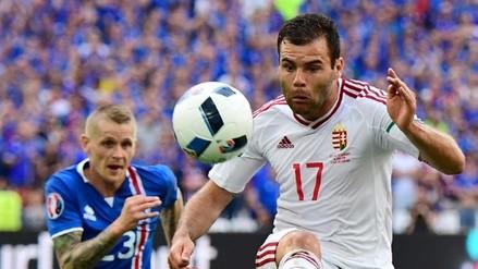 Eurocopa Francia 2016: Islandia y Hungría igualaron 1-1 por el Grupo D