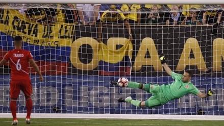 Perú vs. Colombia: el suspenso de la tanda de penales a ras de cancha
