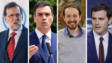 España: el Partido Popular y Podemos lideran las encuestas