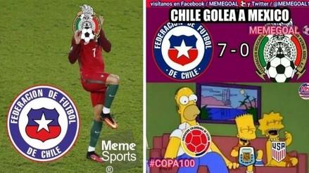 Copa América: los memes de la goleada 7-0 de Chile sobre México